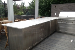 BBQ counter